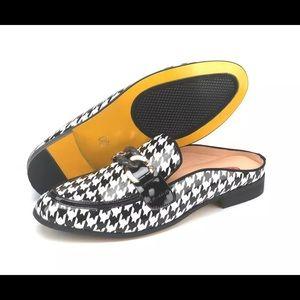 Other - Men White Black Slippers